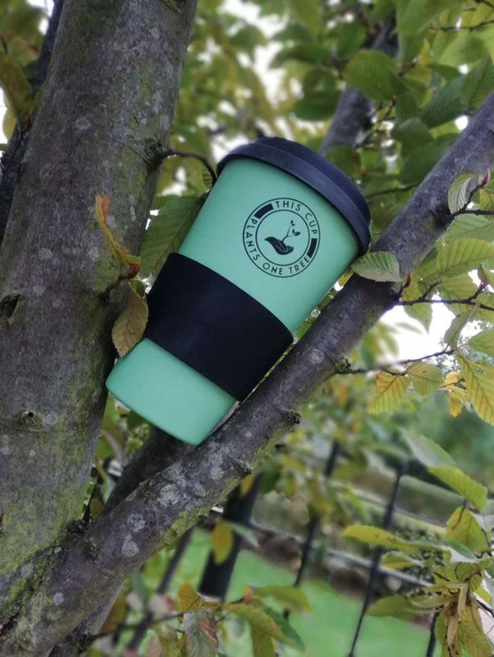 Our cups now plant trees