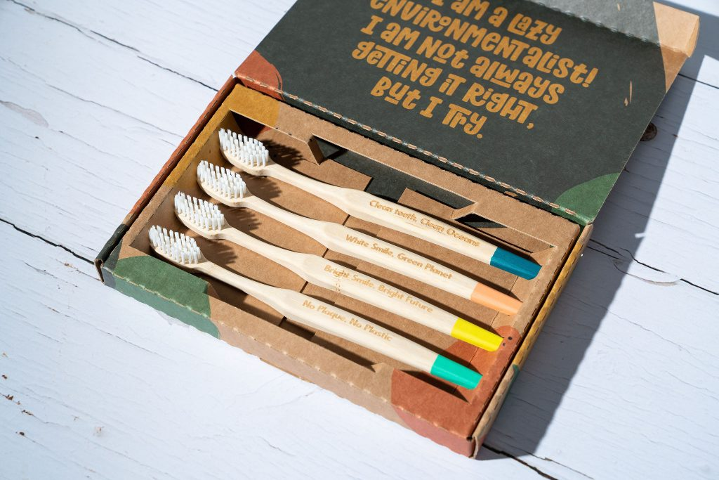 evolution of a bamboo eco toothbrush